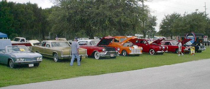 Ronnie Setsers Custom Car Shows - Classic car show tampa fl